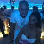 Raffaella Fico e Alessandro Moggi, vacanze d'amore a Mykonos