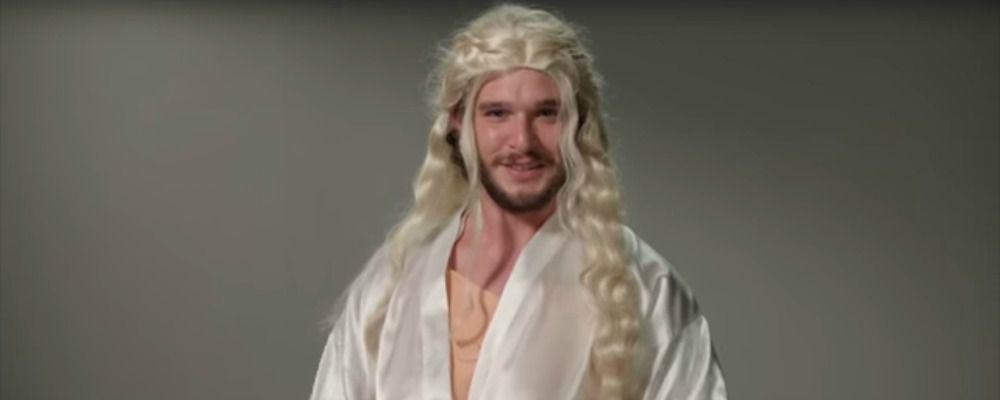 Game of Thrones, il provino di Kit Harington per tutti i ruoli di Trono di Spade