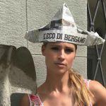 Michelle Hunziker, il video in versione muratore bergamasco conquista la rete