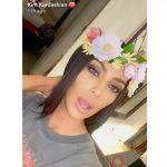 Kim Kardashian: ma quale cocaina sono le striature del marmo