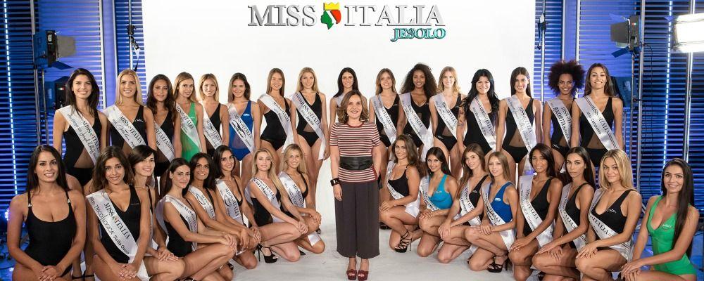 Miss Italia 2017, in tv le trenta finaliste in corsa per la corona
