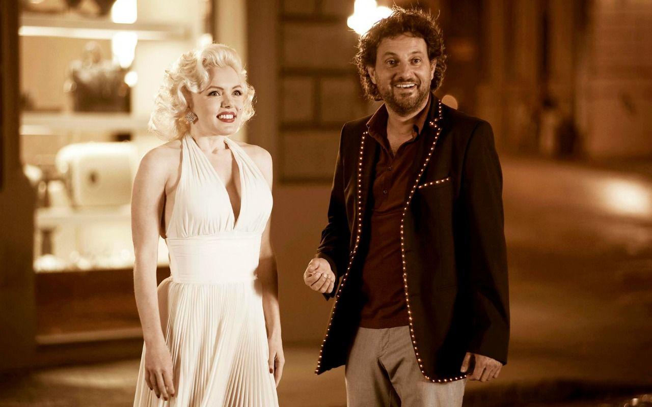 Io e Marilyn, Leonardo Pieraccioni incontra la Monroe nel film su Canale 5