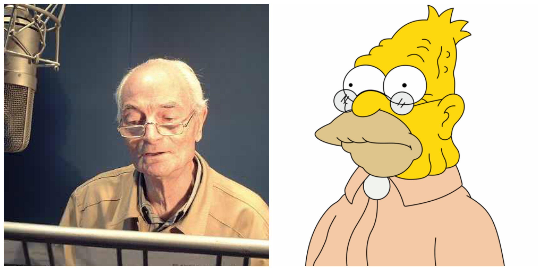 Morto Mario Milita, voce di nonno Simpson nella famosa sitcom animata americana