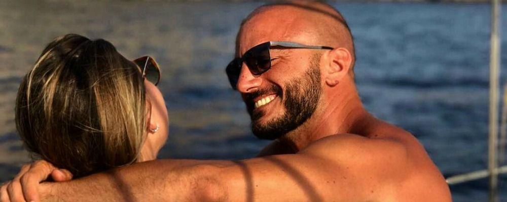 Nicolas Vaporidis, sorriso per il nuovo amore