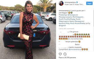 Simona Ventura: è sempre tempo di selfie nella calda estate in Sardegna