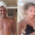 Christian Vieri e Costanza Caracciolo, flirt in corso a Ibiza con l'ex velina