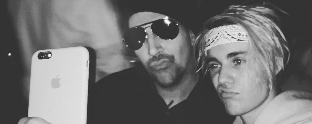 Marilyn Manson contro Justin Bieber: la lite per la maglietta