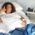 Samantha De Grenet, a casa dopo l'operazione