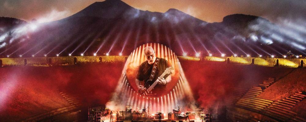 David Gilmour, il live di Pompei approda al cinema