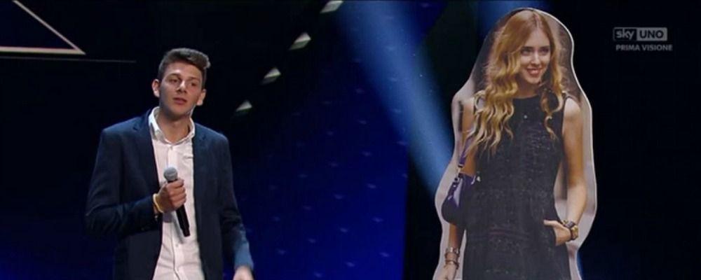 X Factor 2017, Fedez ritrova Chiara Ferragni sul palco delle Audizioni