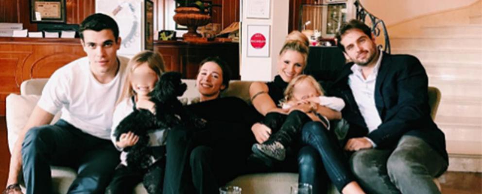 Michelle Hunziker, foto di famiglia con Aurora e Goffredo Cerza