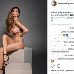 Belen Rodriguez nuda su Instagram scatena Andrea Iannone e i fan