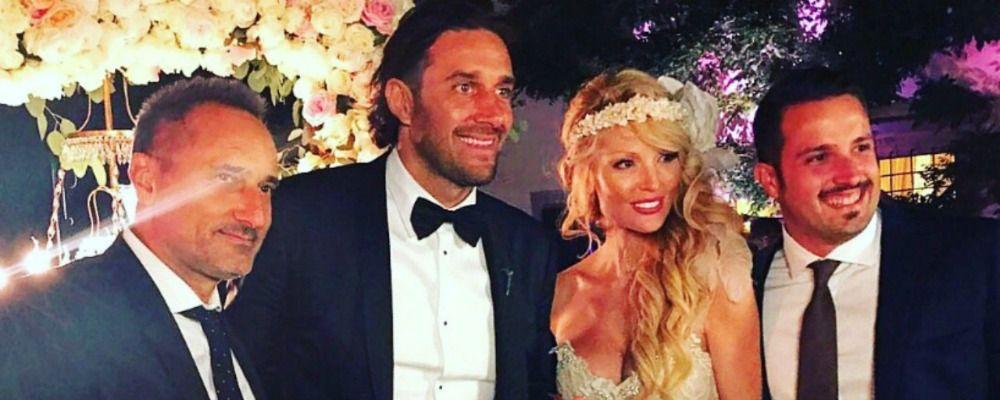 Luca Toni e Marta Cecchetto finalmente sposi