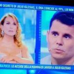 """Domenica Live, Javier Sanchez: """"Sono il figlio segreto di Julio Iglesias"""""""