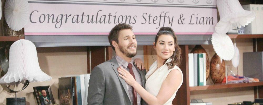 Beautiful, il matrimonio di Steffy e Liam: anticipazioni dal 16 al 21 ottobre