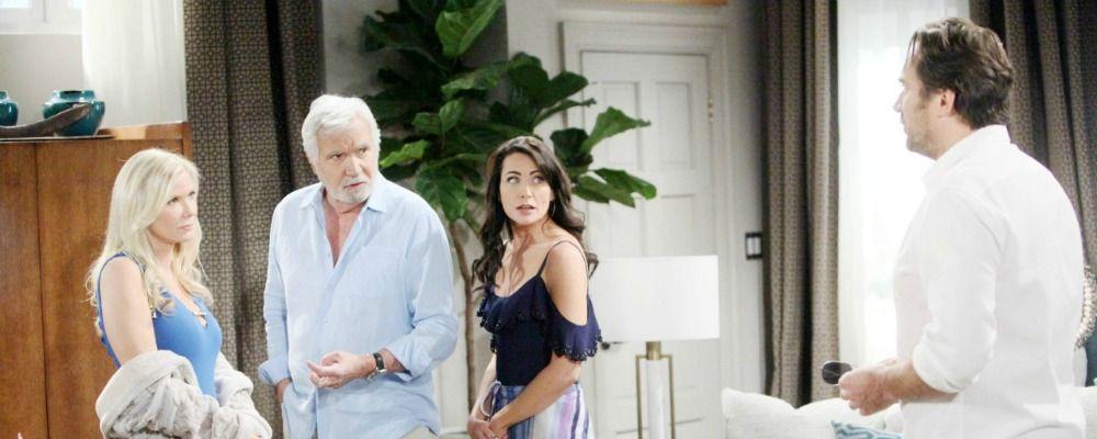 Beautiful, Brooke scopre la tresca tra Ridge e Quinn: anticipazioni dal 23 al 28 ottobre
