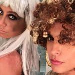 Elisabetta Canalis e Maddalena Corvaglia, belle da far paura per Halloween