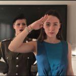 Michelle Hunziker spietato generale nel video con Aurora Ramazzotti