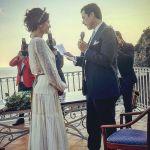 Giulia Bevilacqua e Nicola Capodanno, matrimonio sul mare a Positano