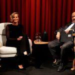 L'intervista, faccia a faccia tra Maurizio Costanzo e Federica Pellegrini