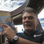 L'astronauta Paolo Nespoli con Rat-Man nello spazio - il video