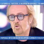 Domenica Live, Umberto Tozzi racconta il malore prima del concerto di Verona