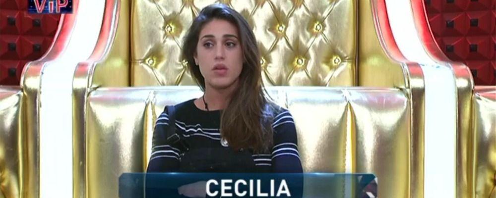 GF Vip 2, Cecilia Rodriguez sogna Francesco Monte ma si chiude nell'armadio con Ignazio Moser