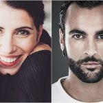 Giorgia e Marco Mengoni duettano in 'Come neve'