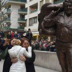 Bud Spencer, a Budapest la sua statua con la frase di Terence Hill