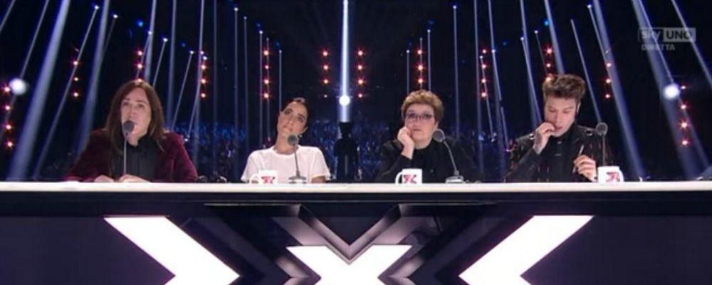 X Factor 2017, quinta puntata live: la gara degli inediti elimina Gabriele Esposito