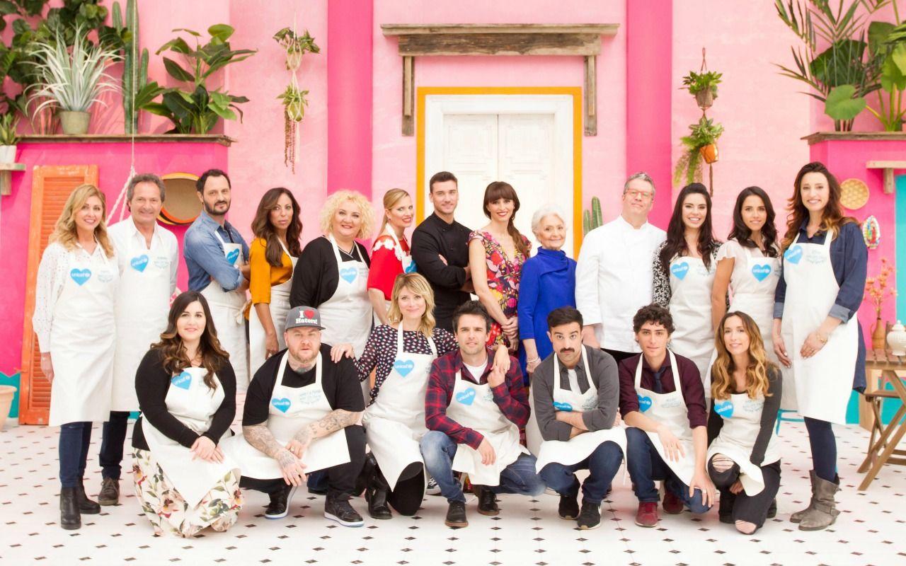 Bake Off Italia Celebrity Edition, i vip delle due puntate speciali per l'Unicef
