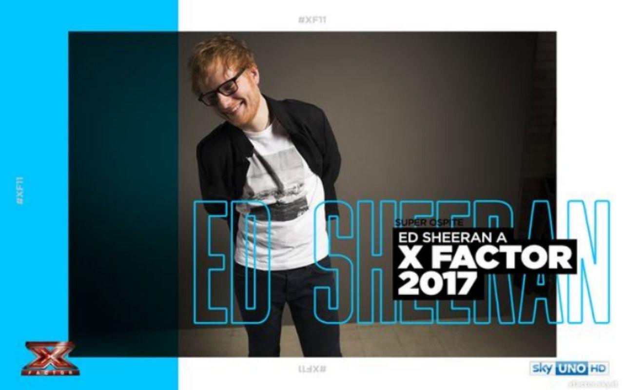 X Factor 2017, la finale del 14 dicembre anche in chiaro su TV8. Ospite Ed Sheeran