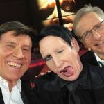 Gianni Morandi insieme a Marilyn Manson scatena i fan sui social