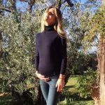 Nicoletta Romanoff incinta: il dolce annuncio su Instagram