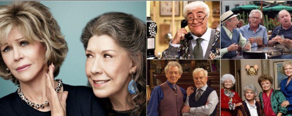 Top10, da Grace e Frankie a Cuori senza età: le serie tv più divertenti sulla terza età