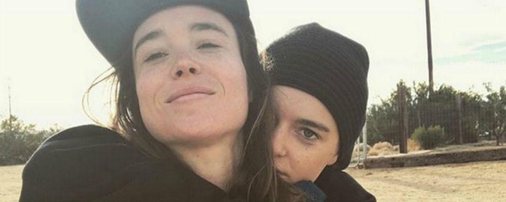 Ellen Page, l'attrice di 'Juno' ha sposato la ballerina di Justin Bieber