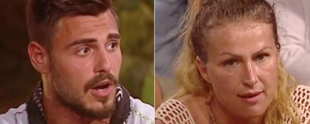 Isola dei famosi 2018, seconda puntata Eva Henger contro Francesco Monte: 'Ha portato droga nel programma'