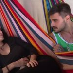 Francesco Monte e Paola Di Benedetto, primo bacio dopo l'Isola dei famosi
