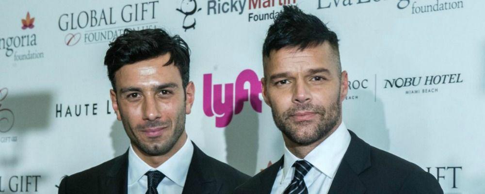 Ricky Martin ha sposato il compagno Jwan Yosef