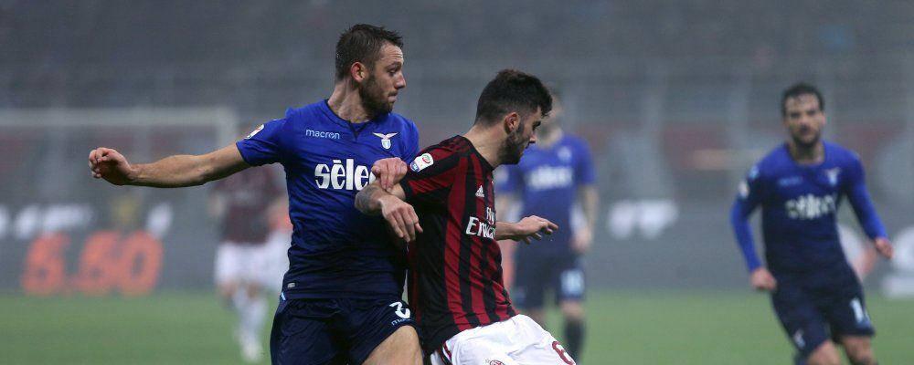 Ascolti tv, oltre 5,3 milioni di telespettatori per Milan - Lazio