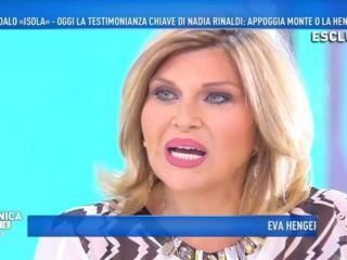 """Domenica Live, Nadia Rinaldi: """"Ho pagato per la droga, non posso sostenere le accuse di Eva Henger a Francesco Monte"""""""