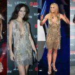Sanremo 2018, Hunziker indossa lo stesso abito di Marica Pellegrinelli: l'attuale signora Ramazzotti