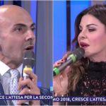Sanremo 2018, lite tra Enzo Miccio e Alba Parietti sui look: 'Sei vestita come a Capodanno'