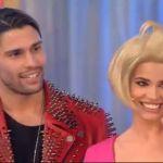90 Special, il bacio in diretta tra Luca Onestini e Ivana Mrazova