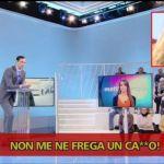 Federica Panicucci, il fuori onda con insulti a Francesco Vecchi. Poi le scuse