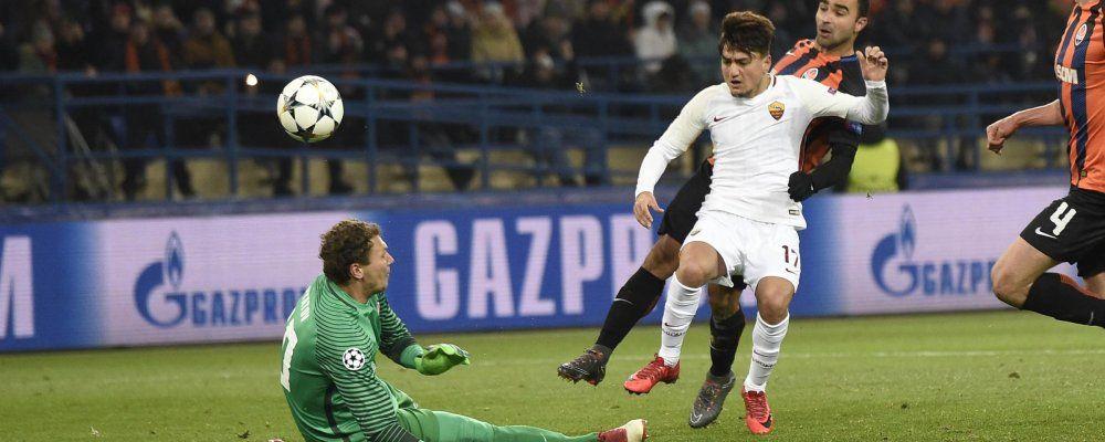 Ascolti tv, vince Shakhtar - Roma che sfiora i 5 milioni di telespettatori
