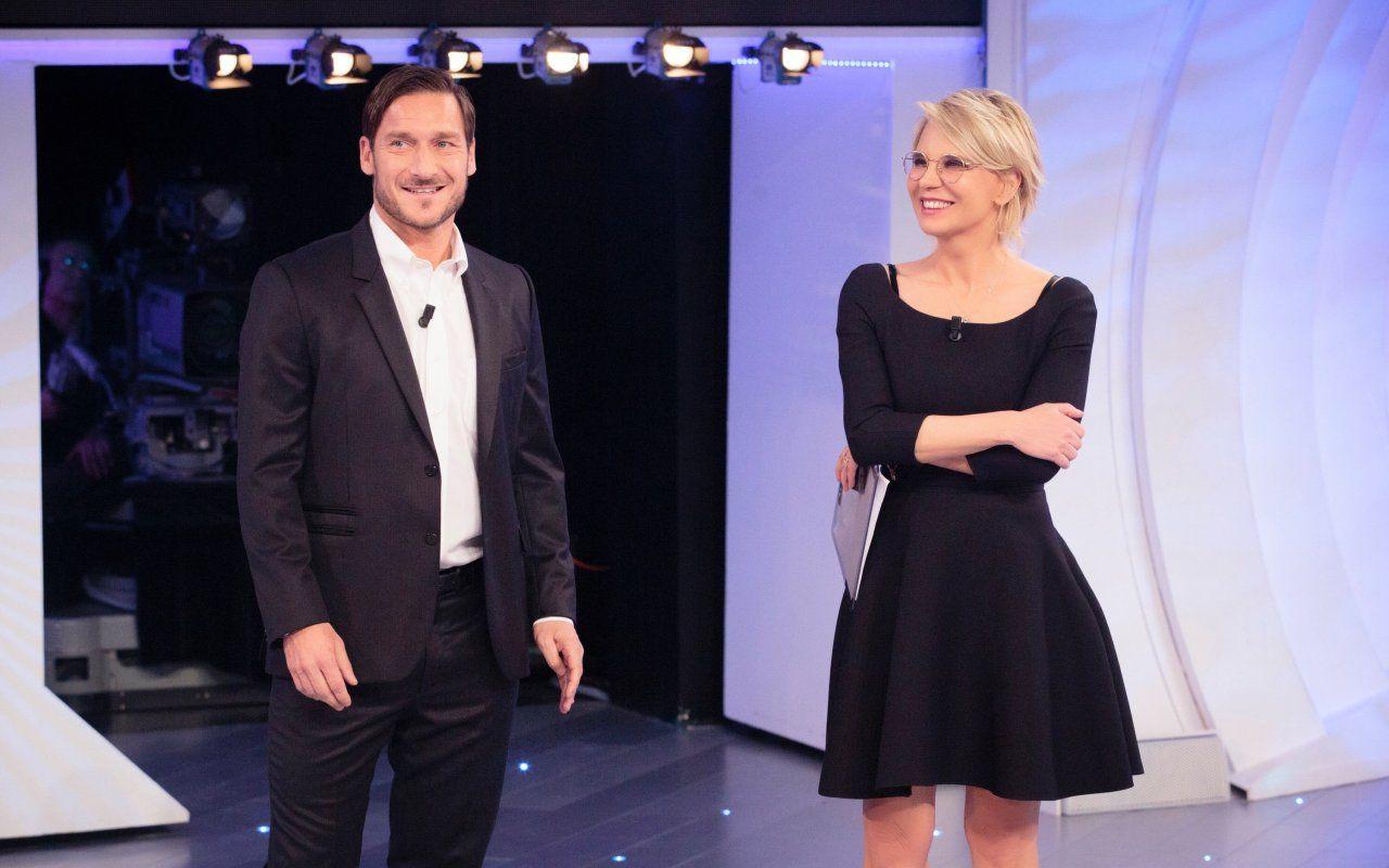 C'è posta per te, Giorgia e Francesco Totti ospiti il 24 febbraio: anticipazioni