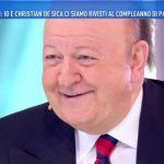 Domenica Live, Boldi rivela: 'Il litigio con De Sica? Tutto finto, siamo amici da sempre'