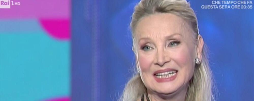 Domenica In, Barbara Bouchet: 'Vivo con 511 euro? Fake news'