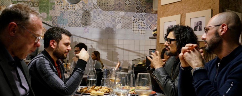 Alessandro borghese 4 ristoranti tra le pizzerie gourmet for Alessandro borghese milano